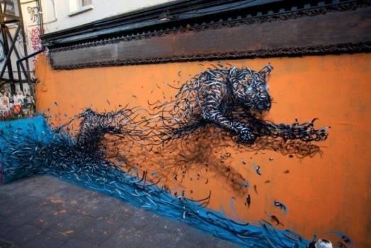 Dünyanın dört bir köşesinden duvar sanatı örnekleri