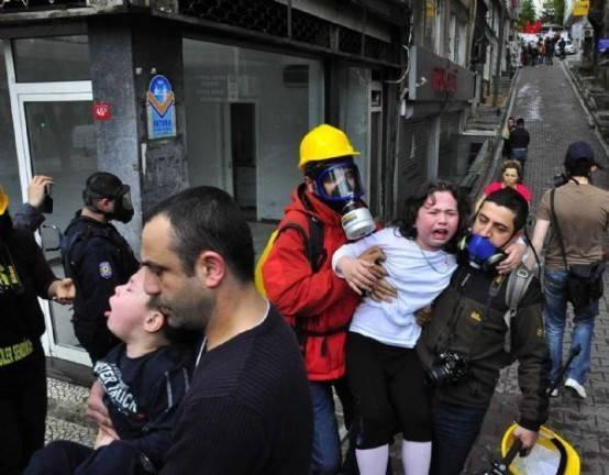 İstanbulda  1 Mayısı polis böyle kutladı.
