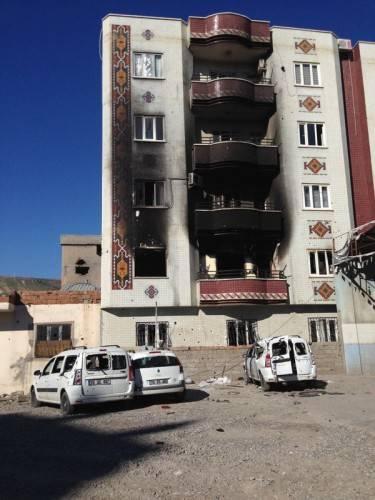 Cizre sokakları  (fotoğraf: Halime Aktürk / imc tv)