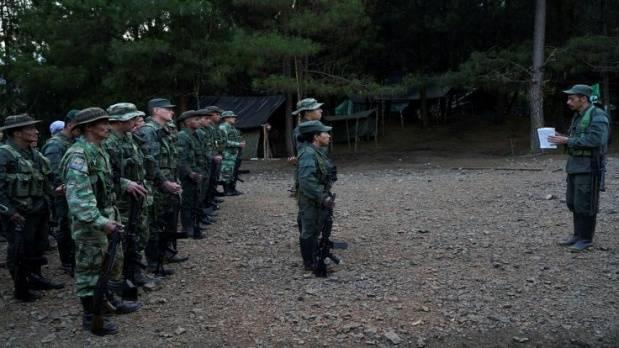 FARC'ın silahsızlanma kampından kareler