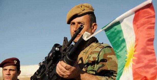 10 kişilik peşmerge heyeti Kobani'de
