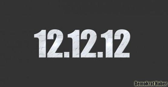 12.12.2012'ye rekor başvuru