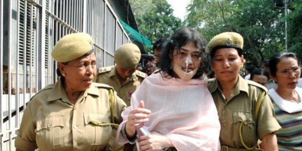 14 yıldır açlık grevini bitirmeyen kadın aktivist tekrar tutuklandı