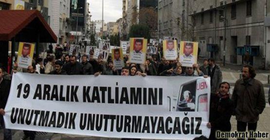19 Aralık katliamı protesto edilecek