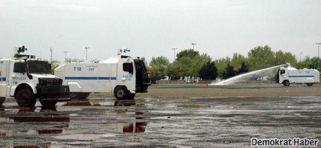 1 Mayıs hazırlığı: 39 bin polis, 50 TOMA..