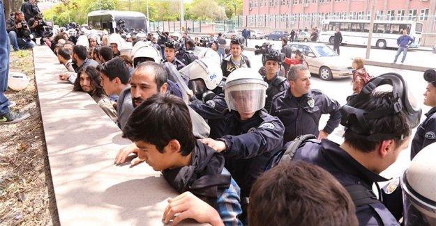 1 Mayıs raporu: Akıl hastasına gözaltı, kadınlara çıplak arama