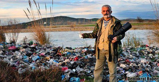 200 çeşit kuşun gözlendiği tek yer olan Kırmıtlı, çöplüğe döndü