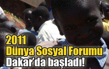 2011 Dünya Sosyal Forumu Dakar'da başladı!