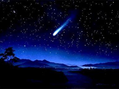2012'nin ilk meteor yağmuru