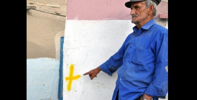 Elazığ'da Alevilerin evleri işaretlendi!i