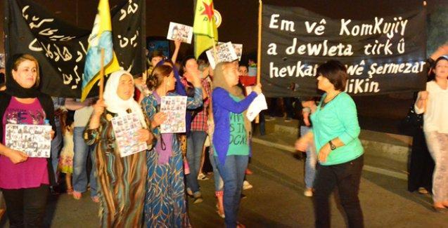 Erbil'de 'Daiş Erdoğan' sloganları