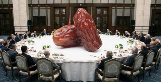Erdoğan'ın iftar masası Washington Post'ta