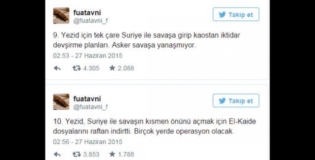 Fuat Avni: Erdoğan Suriye ile savaşa girip kaostan iktidar devşirmek istiyor, asker yanaşmıyor