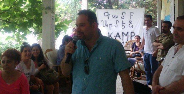 HDP, 53 gündür direnişte olan Kamp Armen Dayanışması'nı ziyaret etti