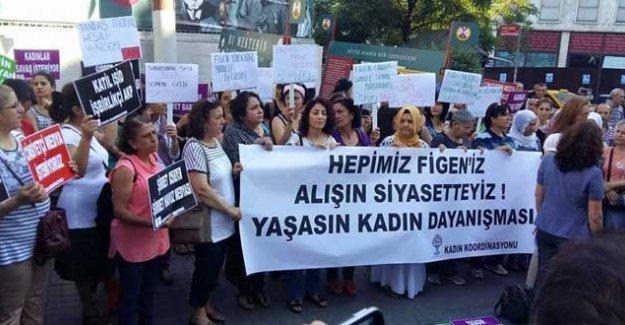HDP'li kadınlar, Figen Yüksekdağ'ı hedef gösteren Star gazetesini protesto etti