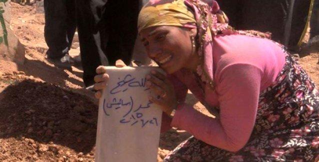 Kobani'de 120 kişi defnedildi