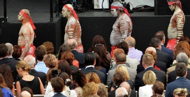 Melbourne'de Aborjinlere ait yerleşimlerin gasp edilme girişimi protesto edildi