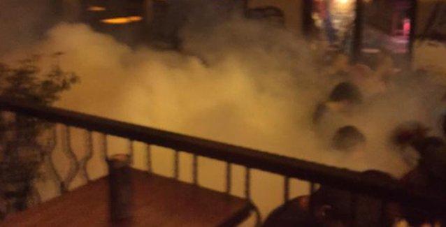 Onur Yürüyüşü'ne saldırı polisi 'kesmedi': Asmalımescit'i de gelişi güzel gazladılar!