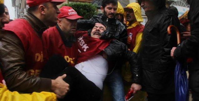 Yağmur altında gaz yiyen işçiler hakkında soruşturma