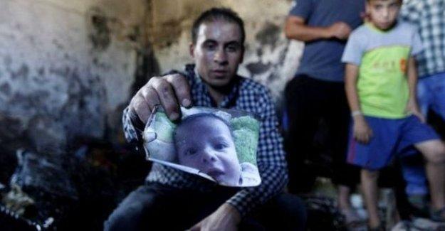18 aylık Filistinli bebek yakılarak öldürüldü
