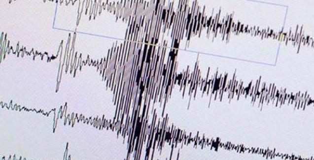 Marmara'da 4.5 büyüklüğünde deprem