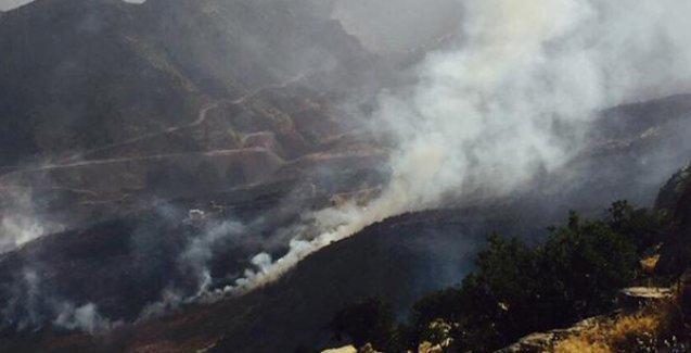 'Cudi'deki yangın Türkiye'nin başka bir yerinde olsaydı devlet seferber olmuştu'