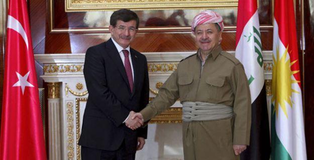 Davutoğlu-Barzani görüşmesinde neler konuşuldu?