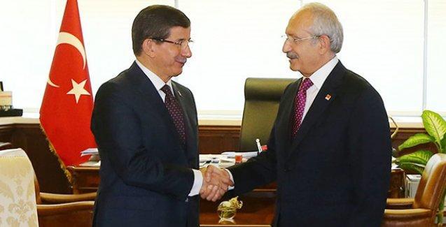 Davutoğlu, CHP görüşmesinin ardından konuştu