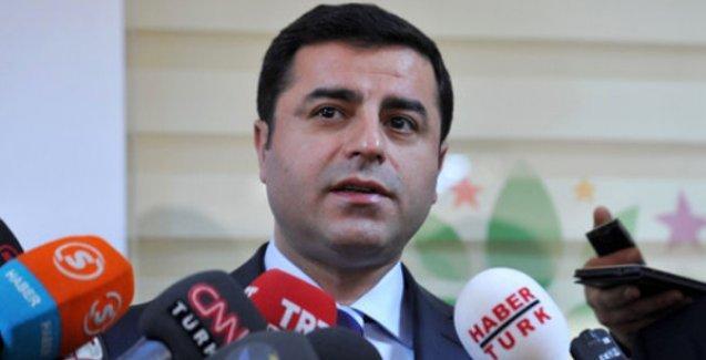 Demirtaş: Çağrılarımıza PKK olumlu yanıt verdi ama Cumhurbaşkanı silahların susmasını kabul etmiyor
