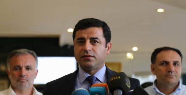 Demirtaş: PKK, 'Elimizi tetikten çekmeye hazırız' dedi, Başbakan buna sağduyulu cevap vermeli