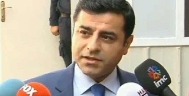 Demirtaş'tan hükümete ve KCK'ye mesaj: Gün kılıç çekme günü değildir