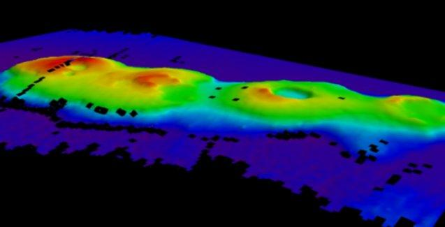 Deniz altında sönmüş 4 volkan keşfedildi