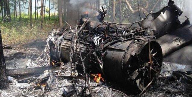 ABD'de F-16 ile yolcu uçağı çarpıştı