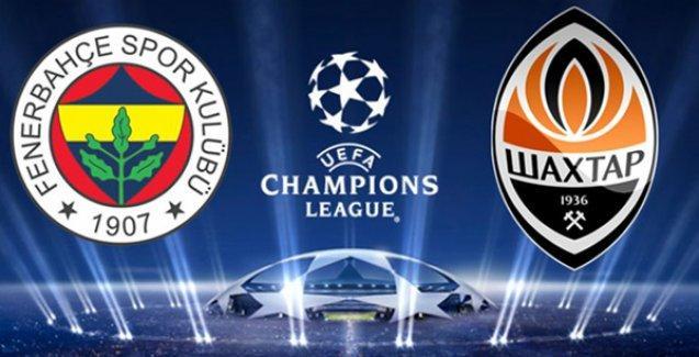 Fenerbahçe-Shakhtar Donetsk maçı ne zaman, nerede oynanacak?