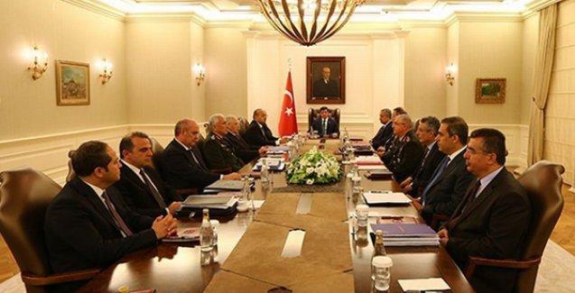 'Güvenlik Toplantısı'nın ardından yazılı açıklama