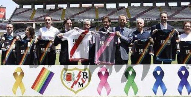 'Halkın takımı' Rayo Vallecano, önümüzdeki sezon LGBTİ renkleriyle sahada olacak