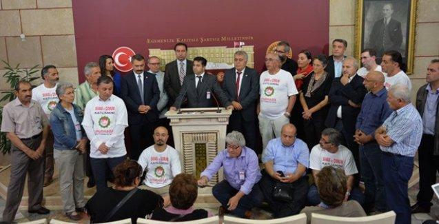 HDP'nin Alevi vekilleri Sivas'ta 22 yıl önce yaşanan acıyı Meclis'e taşıdı