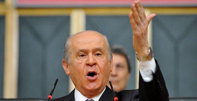Bölgedeki '90'lar politikası Bahçeli'yi kesmedi, MHP lideri 'sıkıyönetim' istedi