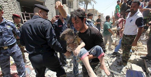 Irak, yanlışlıkla Bağdat'ı bombaladı!