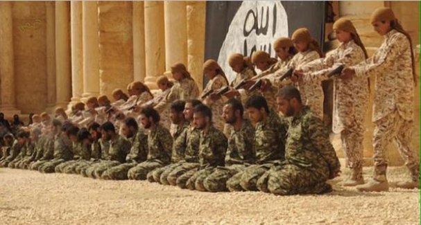 IŞİD, Palmira antik kentinde 25 Suriyeliyi katletti