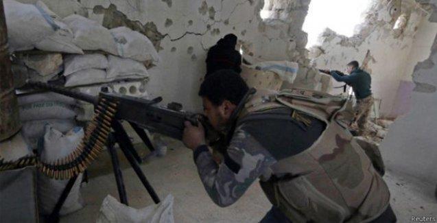 İslamcı gruplar Halep'te büyük bir saldırı başlattı