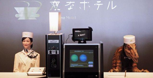 Japonya'da robotların işlettiği otel hizmete girdi