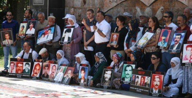 Kayıp yakınları, Erdoğan'a 'Aklını başına al' diye seslendi