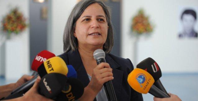 Gültan Kışanak'a 'örgüt üyesi' suçlamasıyla 10 yıl hapis istemi
