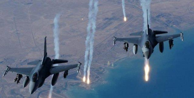 Koalisyon uçakları Rakka'yı vurdu