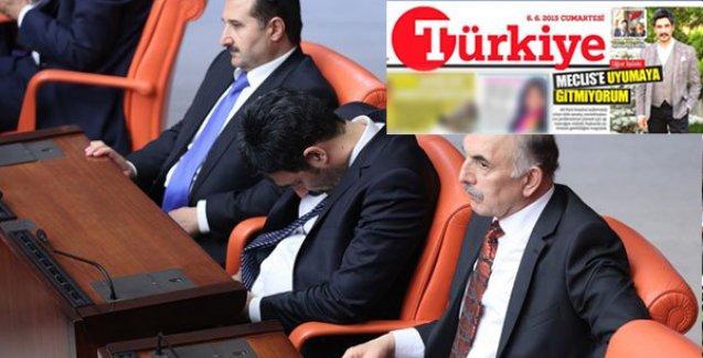 'Meclis'e uyumaya gitmiyorum' diyen AKP'li Uğur Işılak, Meclis'te uyuyakaldı
