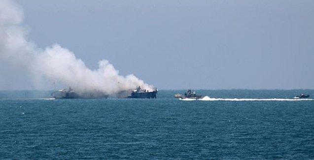 Mısır gemisine Gazze açıklarında roket saldırısı