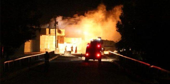 Nusaybin Bölge Trafik Denetleme Müdürlüğü'ne silahlı saldırı