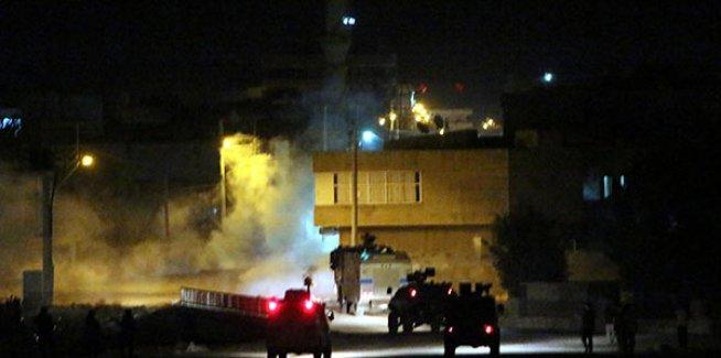 Nusaybin'de hendek protestosuna polis saldırdı