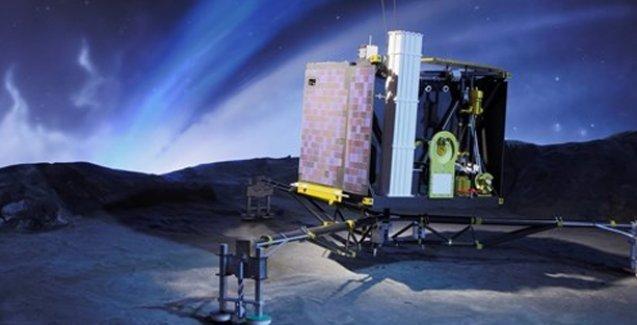 Philae uzayda yaşamın izini buldu